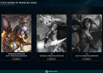 Upcoming Skins Updated: Splash Arts, Prestige Edition, and Miscellaneous. 4
