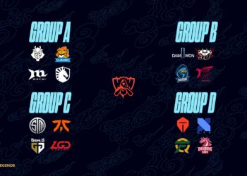Group Stage Schedule for LoL World Championship 2020 7