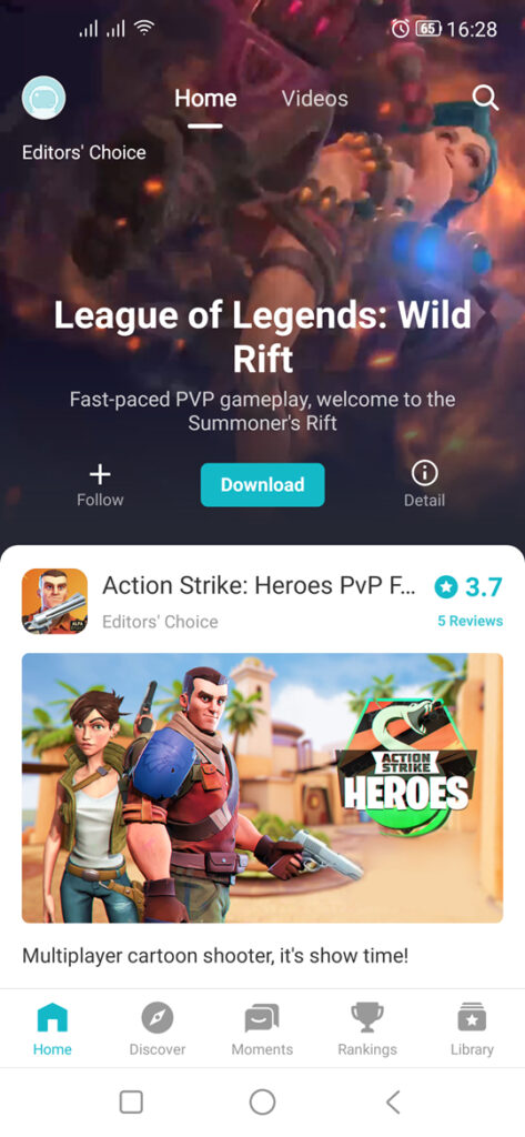 Download and Install Wild Rift