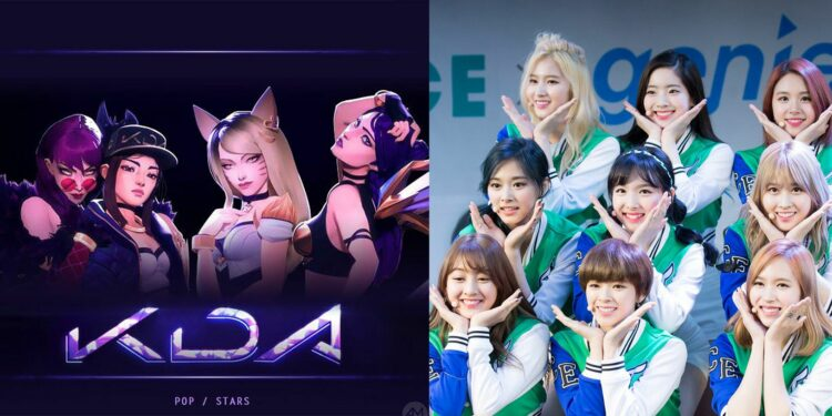 Riot confirmed to release new Twice x K/DA albums 1