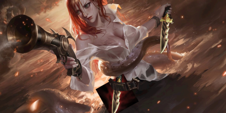 Miss Fortune Serrated Dirk