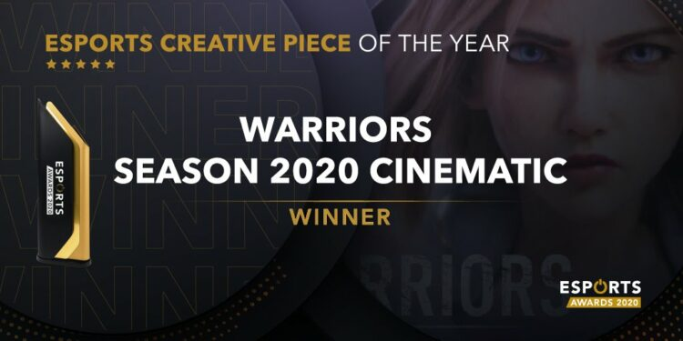 "Riot Games wins ""Esports Creative Piece Of The Year"" category for Warriors 