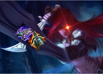 Katarina - an AP Assasin found her place in the meta by building AD 6