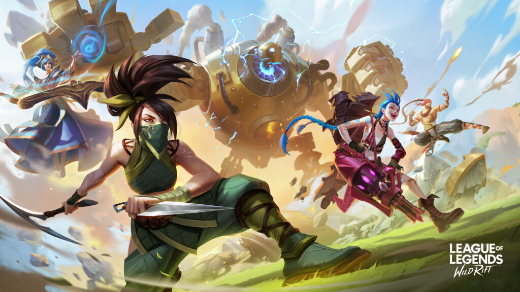 role selection Wild Rift