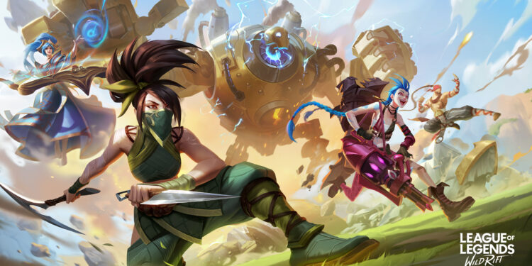 Role selection is coming to League of Legends: Wild Rift 1