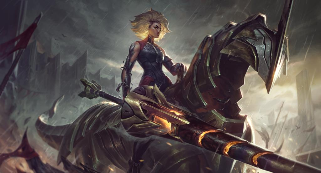 Rell - The Iron Maiden: League of Legends 153rd Champion Build, Tips, and Tricks 5