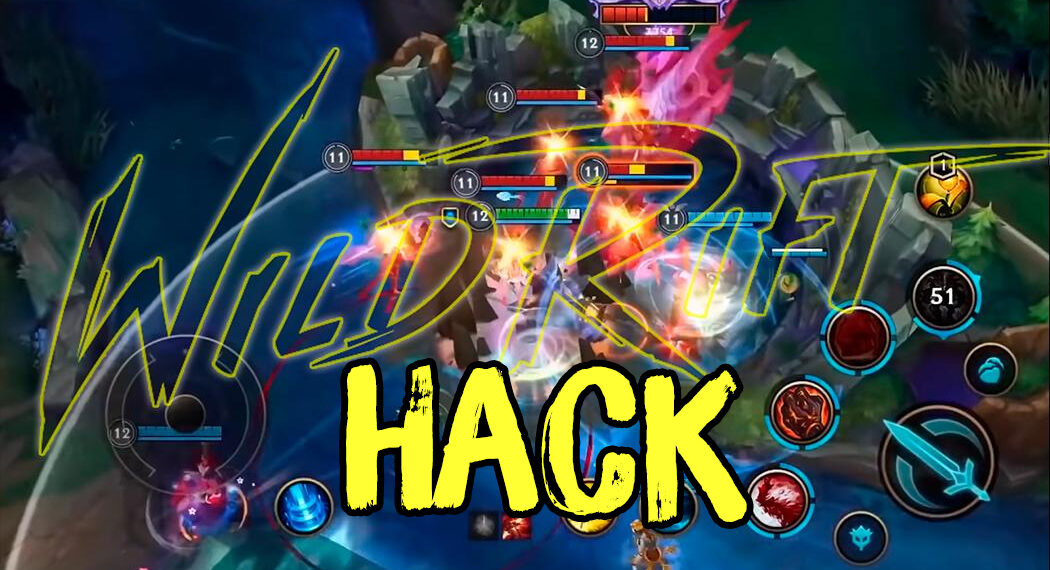 Wild Rift has the hack and even video to guide How To Hack when it is just released. 1