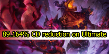 Unbelievable 89.164% CD reduction on Ultimate 8