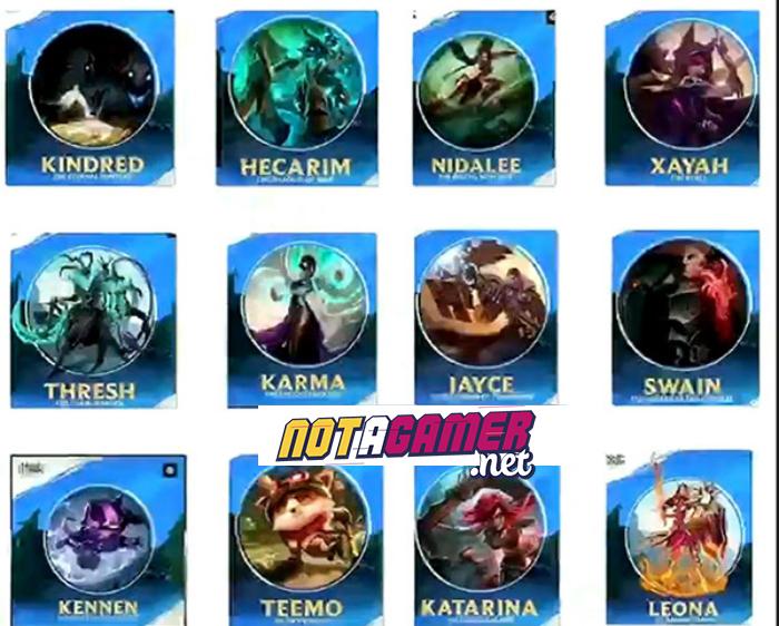 Wild Rift Revealed 12 New Champions