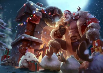 League of Legends: Top 5 Most Beautiful Christmas costumes! 2