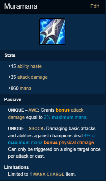 Patch 10.25: Orianna is so OP with Muramana that Riot must nerf this item instantly. 2