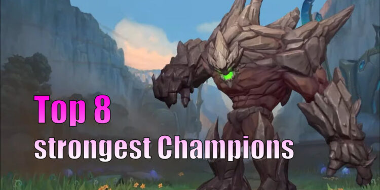strongest champions