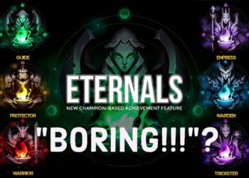 Eternals is too boring?