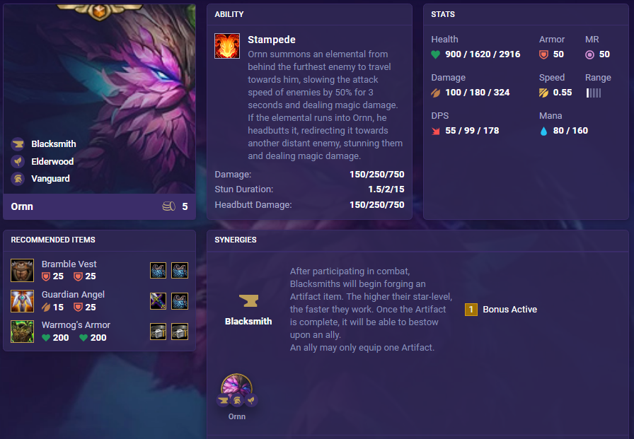 New Champions in TFT Set 4.5: Festival of Beasts 1