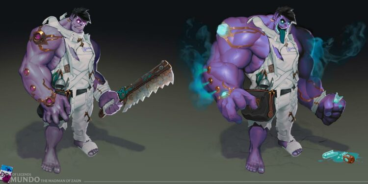 Dr. Mundo - First Tease Of League's VGU in 2021 1