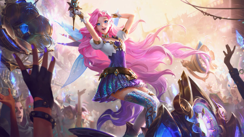 Seraphine to dominate as an ADC with over 54 percent win rate in 3 consecutive patches 2