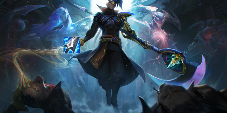 Blue Kayn build from pro-players - patch 11.3 1