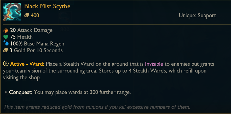 League patch 11.5 previews: adjustment aims at ward range of support items 3