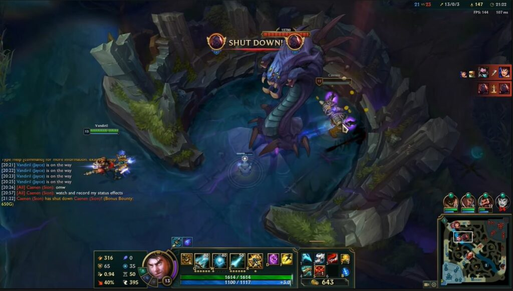 The new bug allows Jayce and Sion to kill themselves to claim bounty 2