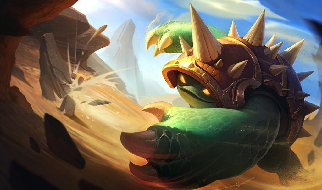 Rammus VFX and ability update set to hit PBE server soon 2