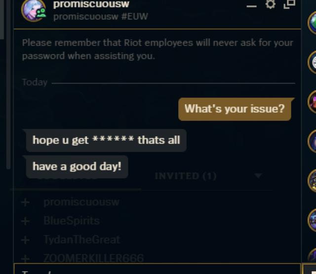 Former G2 player PromisQ got banned for toxic behavior 3