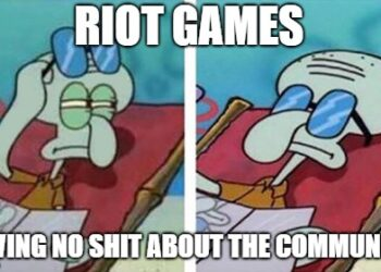 Publicly supporting smurf, Riot received harsh criticizes from the community 2