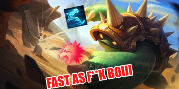 New Bug allows Rammus to go from top to bot in 6 seconds 2