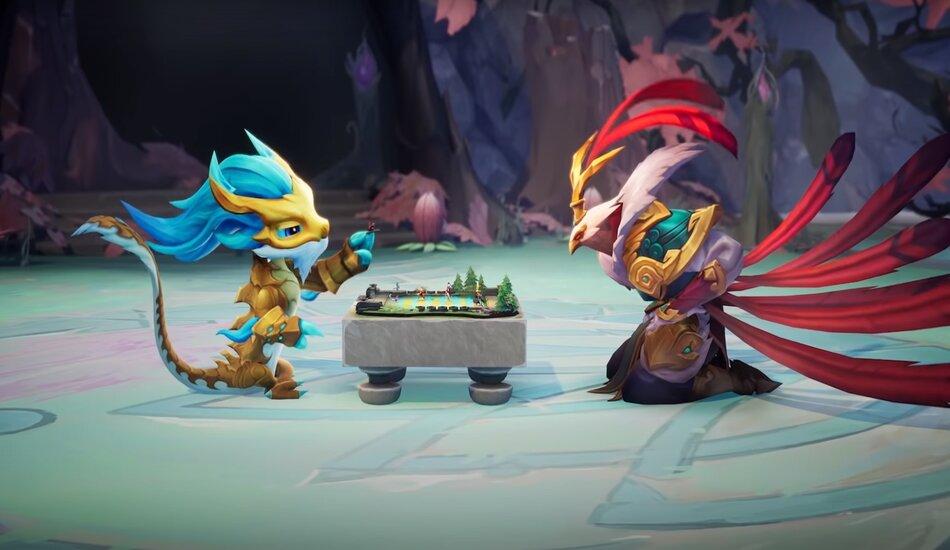 Hyper roll! A new game mode of Teamfight Tactics 2