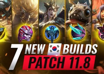 Top 7 Broken Builds League Patch 11.8 1