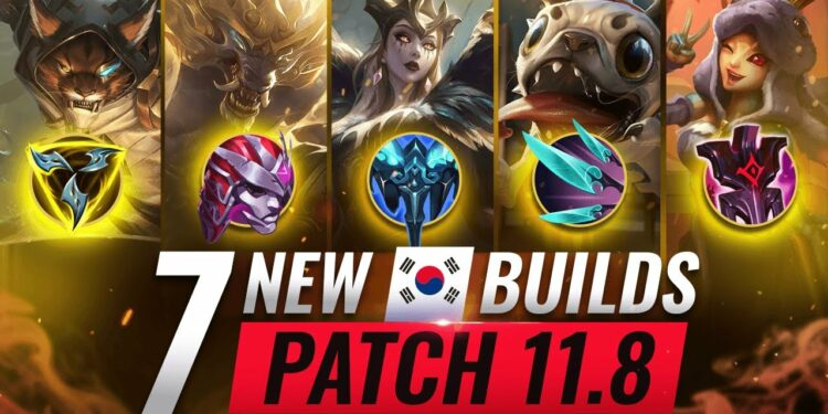Top 7 Broken Builds League Patch 11.8 1