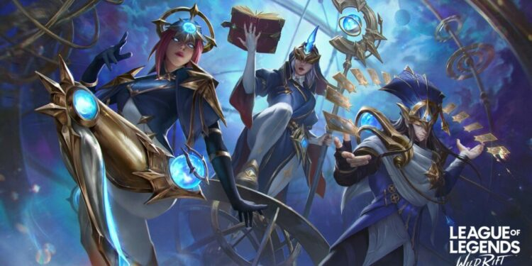 """Stargazer Skinline: LOL community fetched a sigh while looking at Wild Rift exclusive skins: """"I WISH we could get it on PC"""" 1"""