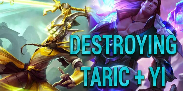 Master Yi + Taric - Strategy: Toxic but Viable 1
