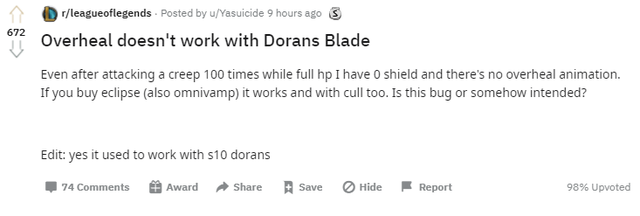 doran's blade