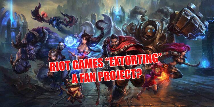 Riot Games shutting down Chronoshift