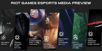 Riot Games esport media preview