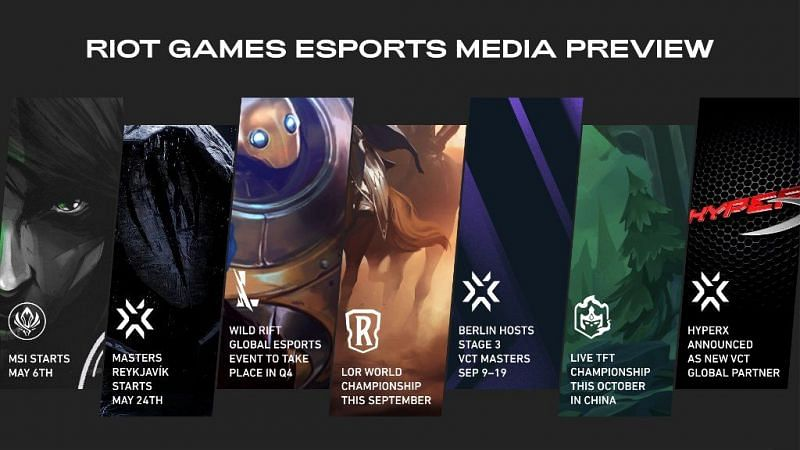 Riot Games reveal their upcoming Plan for Esport Media 1