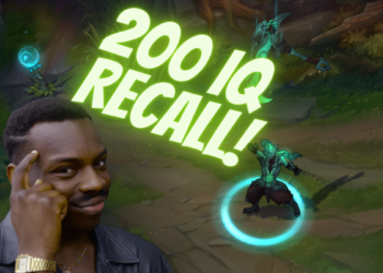 """League of legends: Win your lane with good old """"Fake recall"""" trick! 8"""