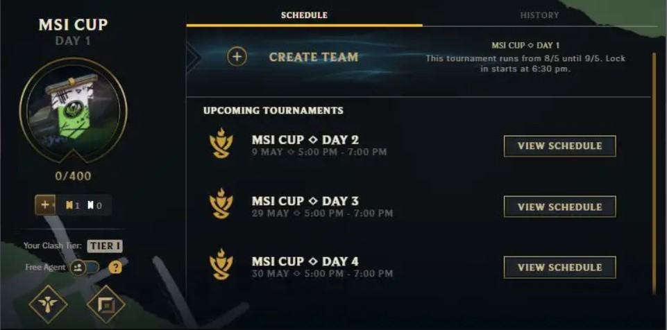League of Legends: MSI Cup for Clash 2021 event full details and rewards 6