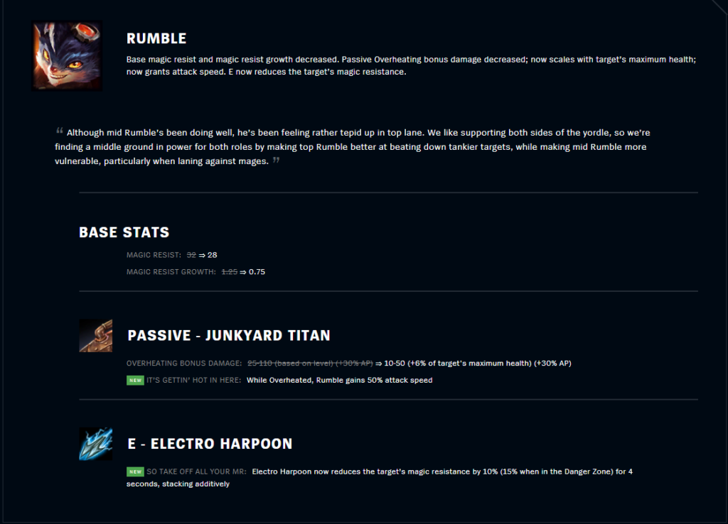 Rumble to become one of the best Jungler in Patch 11.9 4