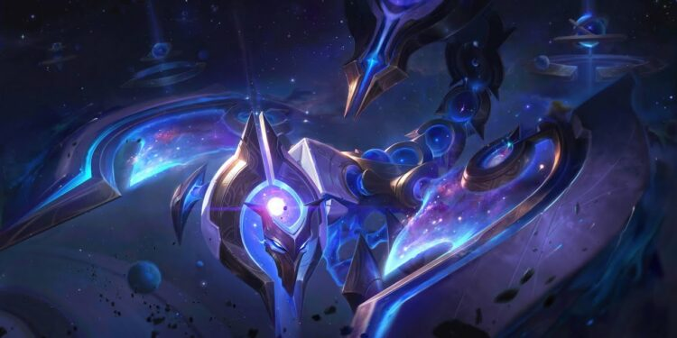Skarner can use Ultimate to disrupt Unstoppable skills in League of Legends 1