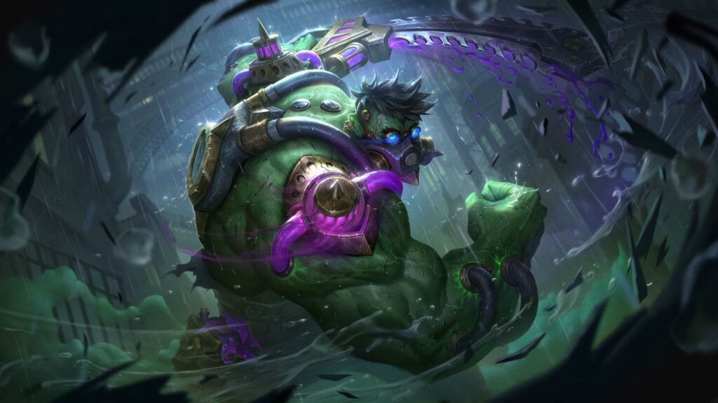 Reworked Dr. Mundo can gain up to 750 AD with only Tank items 3