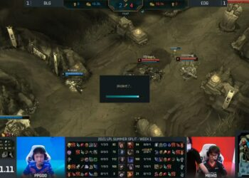 LPL had to cancel a game due to Hextech Flashtraption bug 9