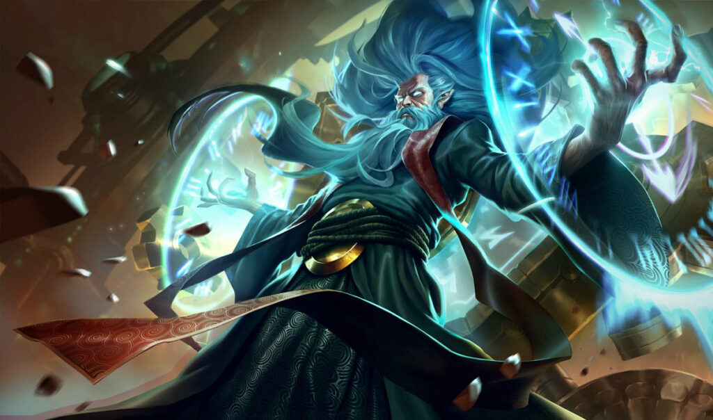 Zilean receive animations VFX update in League PBE Patch 2