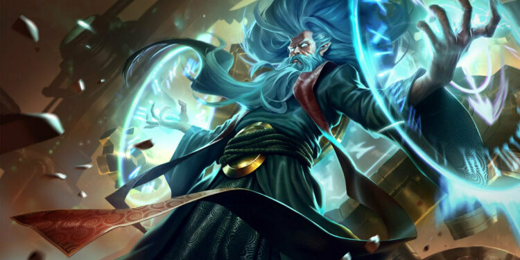 Zilean receive animations VFX update in League PBE Patch 1