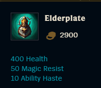 League PBE: 2 new Tank items are introduced into the game 3