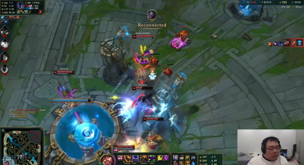 Game-breaking bug: Nocturne Ult can disconnect the entire enemy team 4