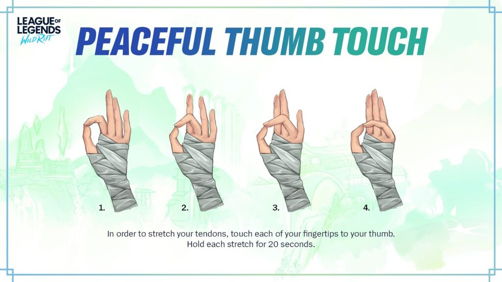 Wild Rift: Riot shares 4 hand Yoga exercises for fans 2