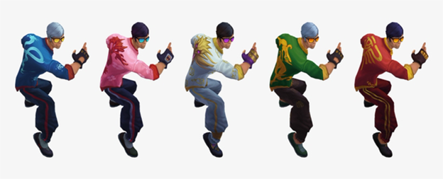 Lee Sin Dragon Fist Chroma Receives Exclusive Arts In China Server 2
