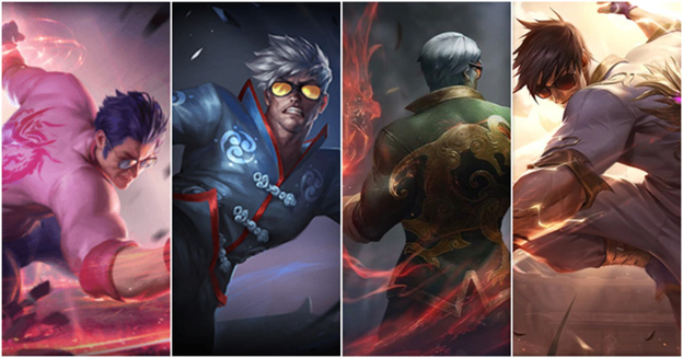 Lee Sin Dragon Fist Chroma Receives Exclusive Arts In China Server 1