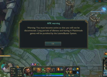 Riot Games was criticized for an AFK case that engaged more than 100 matches without punishment 10